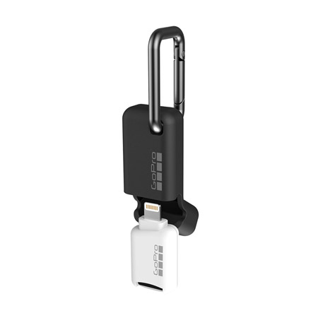 GoPro Quik Key (iPhone, iPad) Mobile MicroSD Card Reader