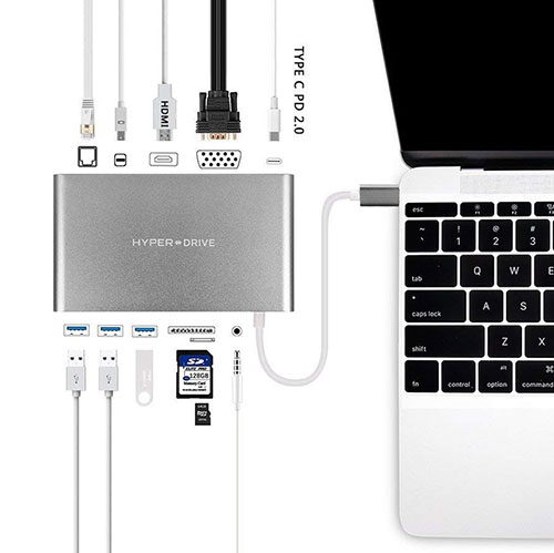 Hub USB-C Hyper Drive Ultimate