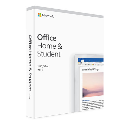 Microsoft Office for Mac 2019 Home Student