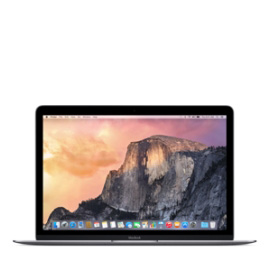 MacBook 12-inch Space Gray 2015