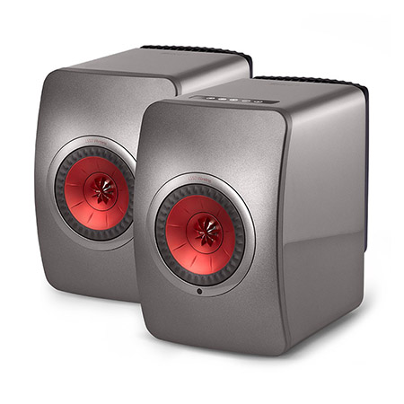 Loa KEF LS50 Wireless (Titanium)