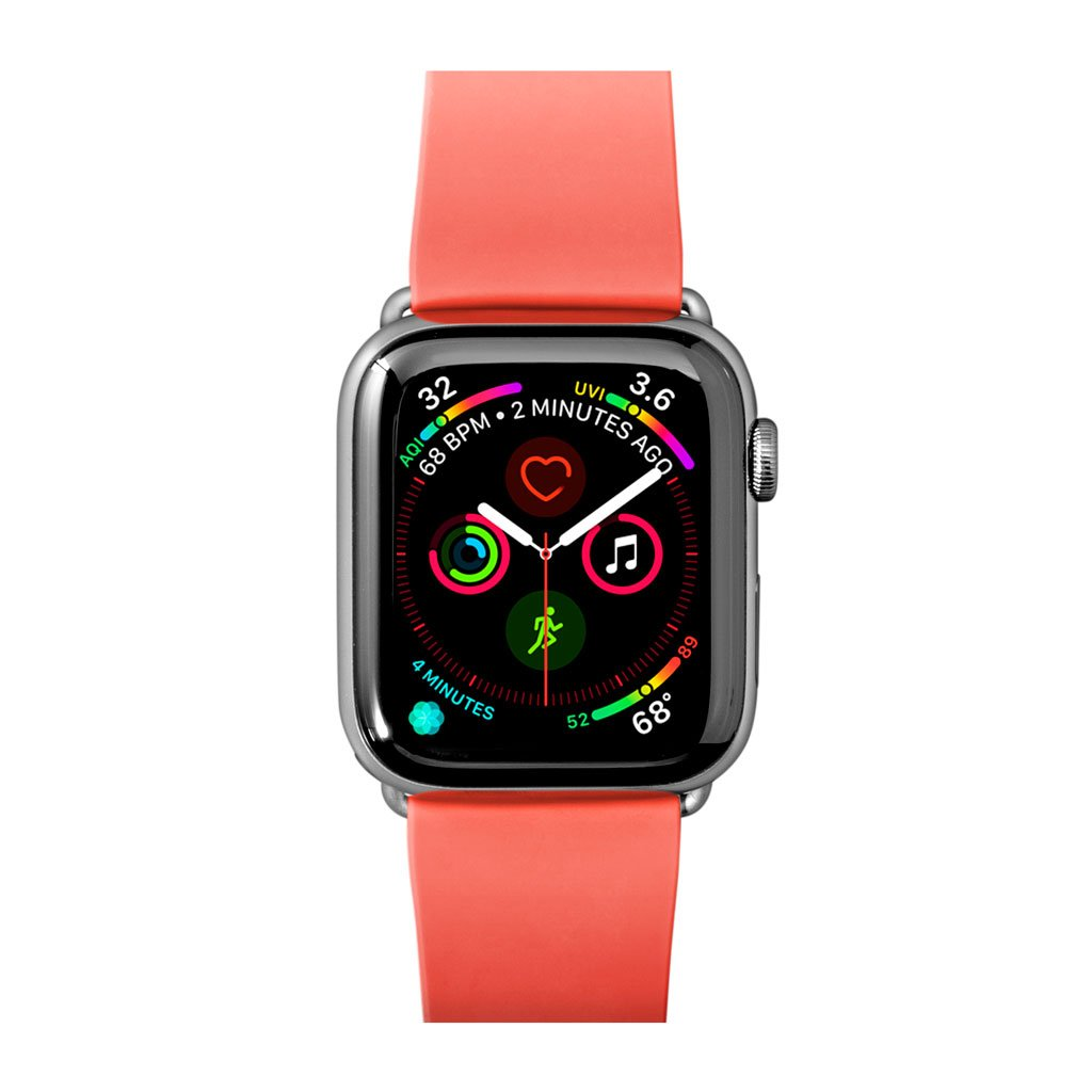 Dây đeo Apple Watch LAUT Active Coral