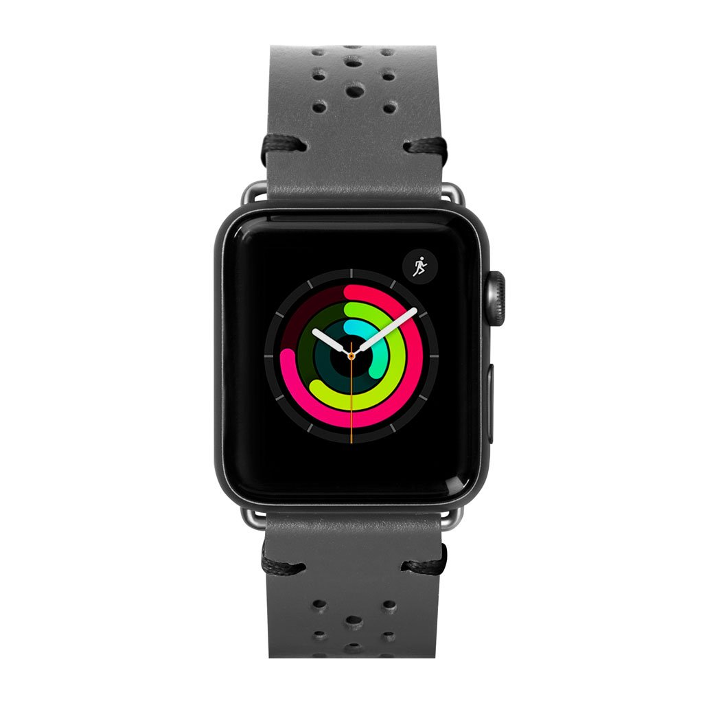 Dây đeo Apple Watch LAUT Heritage Gray