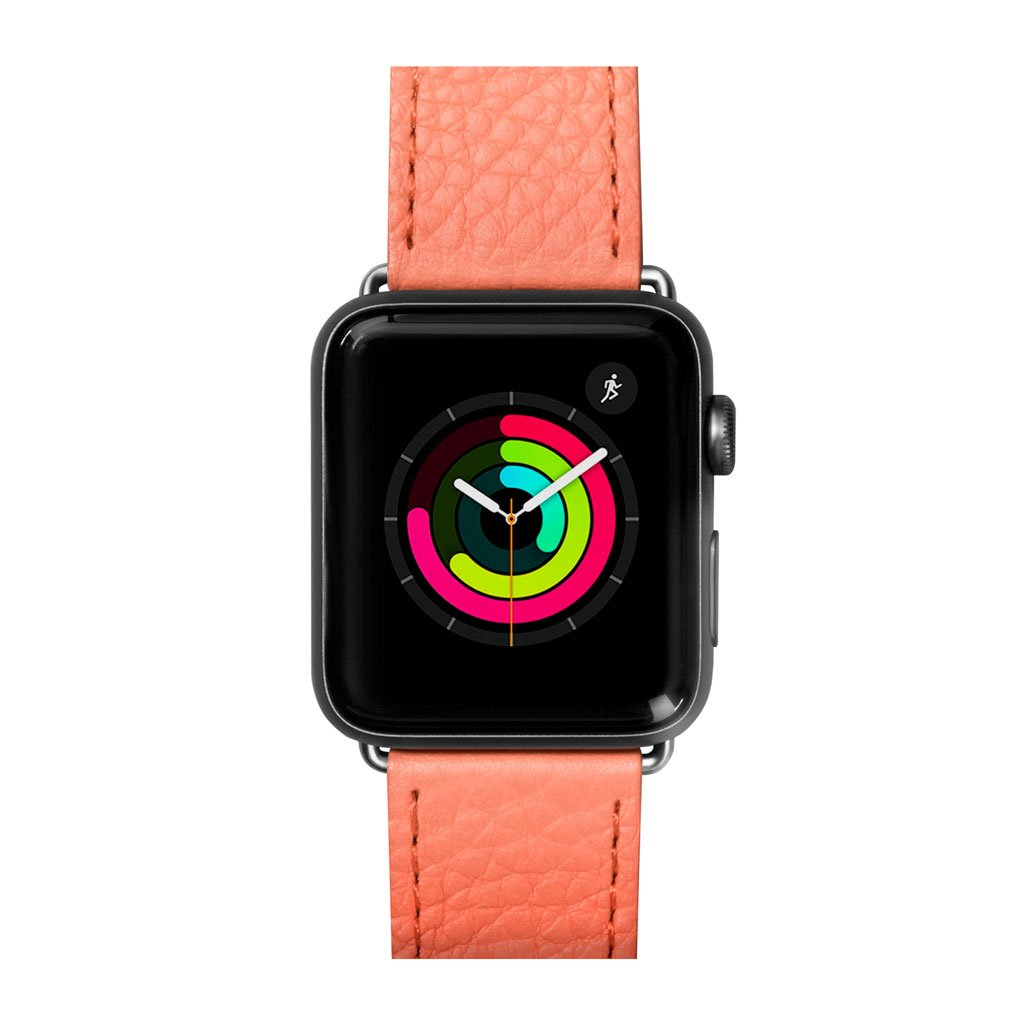 Dây đeo Apple Watch LAUT Milano Coral