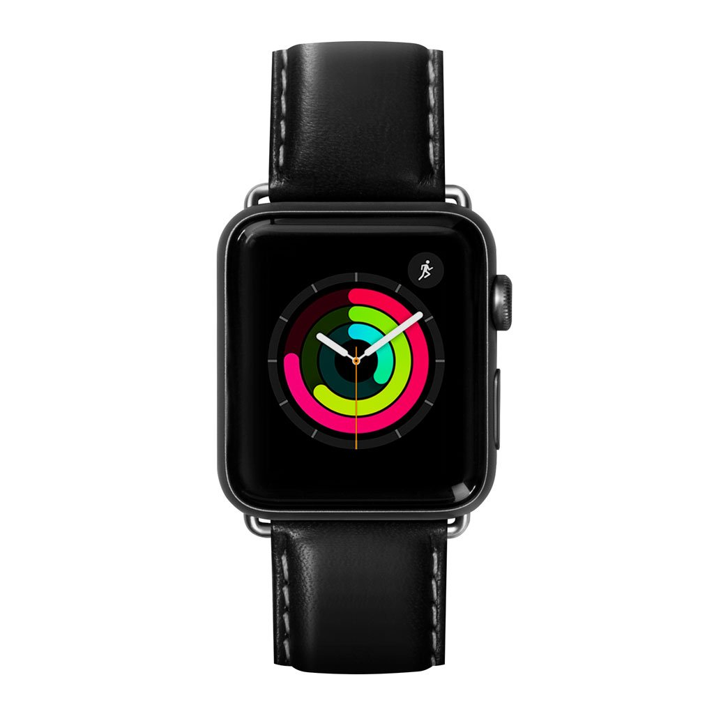Dây đeo Apple Watch LAUT Oxford Black