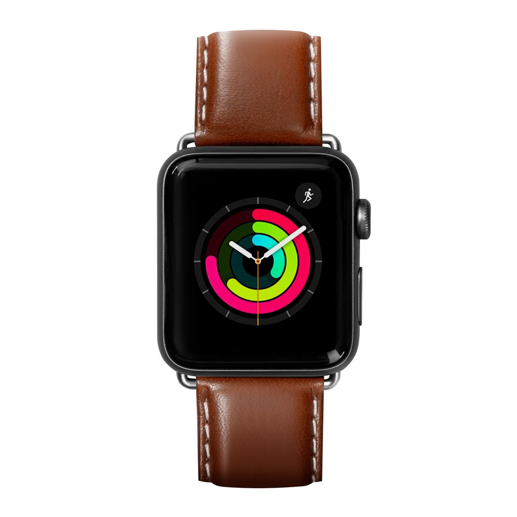 Dây đeo Apple Watch LAUT Oxford Brown