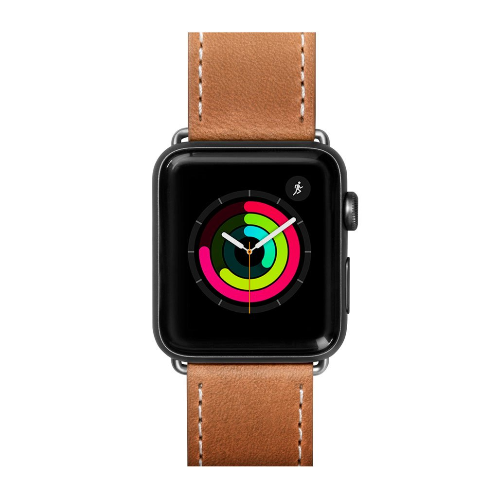 Dây đeo Apple Watch LAUT Safari Brown