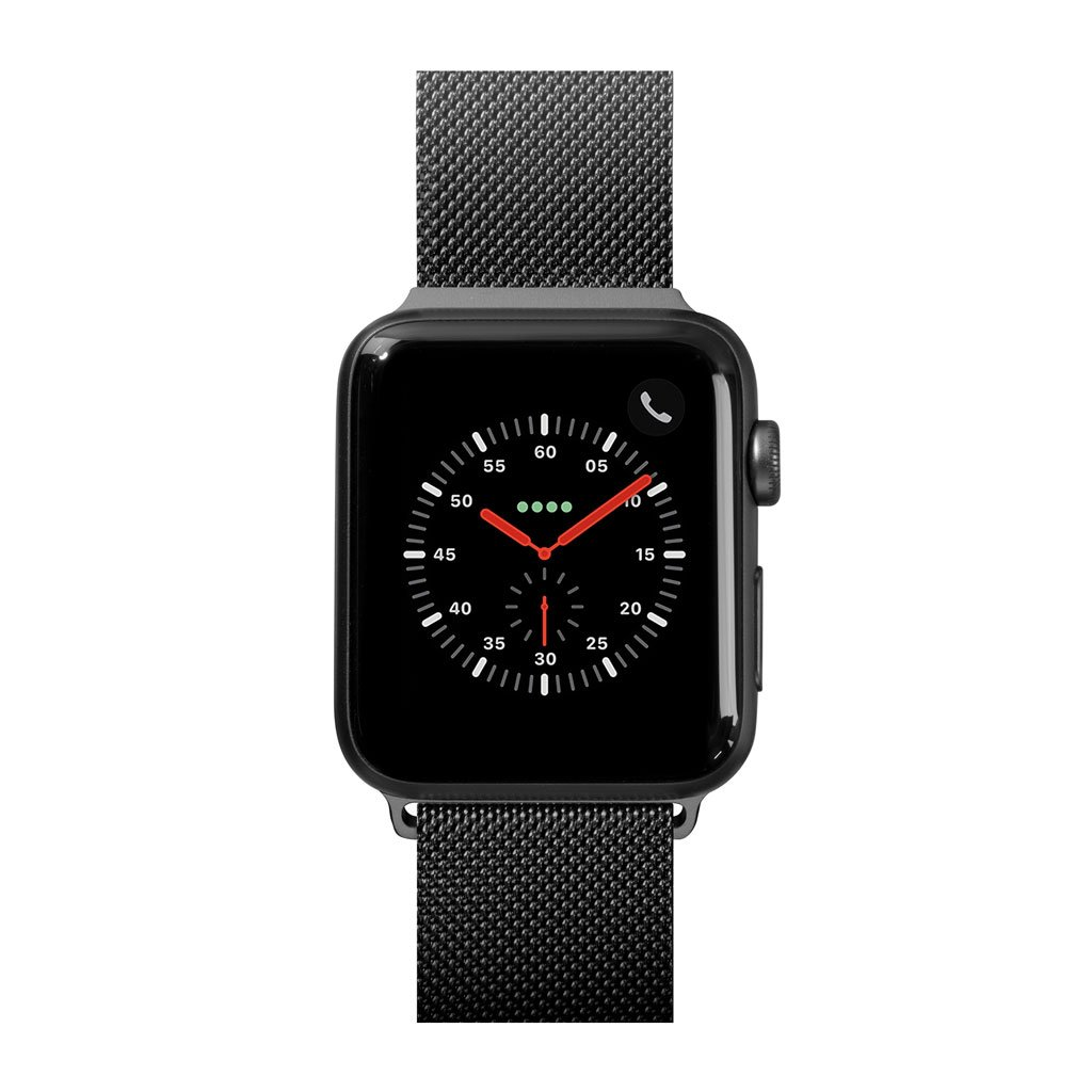 Dây đeo Apple Watch LAUT SteelLoop Black