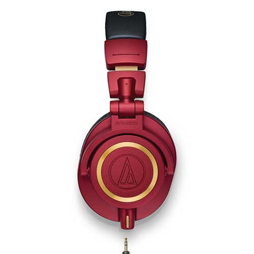 Tai nghe Audio Technica ATH-M50X Red