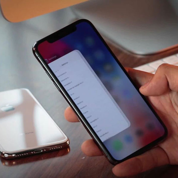 Video Reset iPhone X