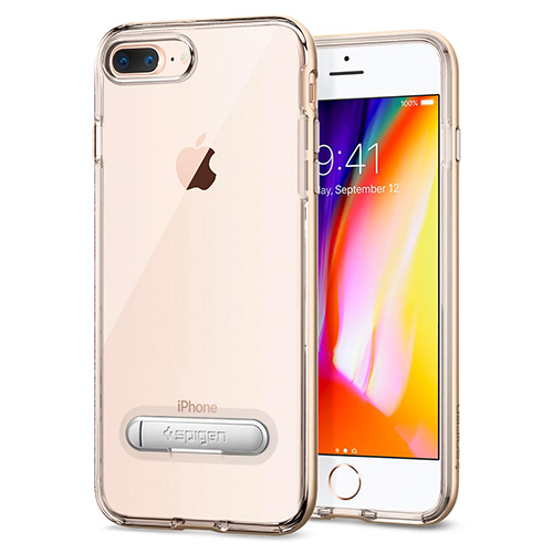 Case iPhone Spigen Crystal Hybrid