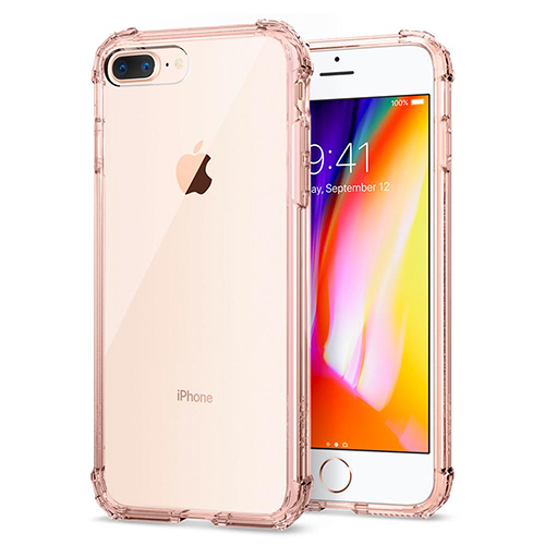 Case iPhone Spigen Crystal Shell