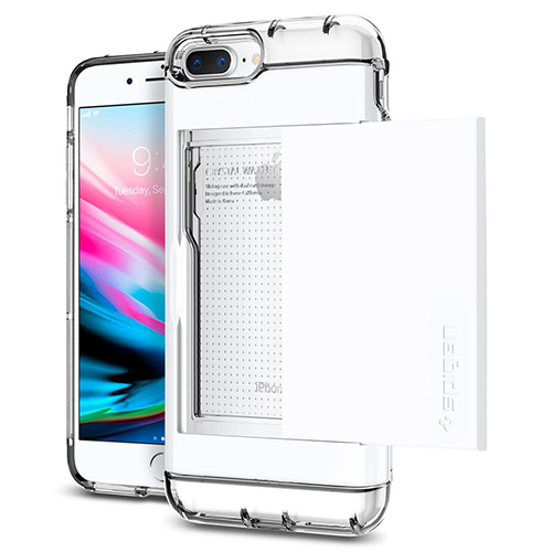 Case iPhone Spigen Crystal Wallet