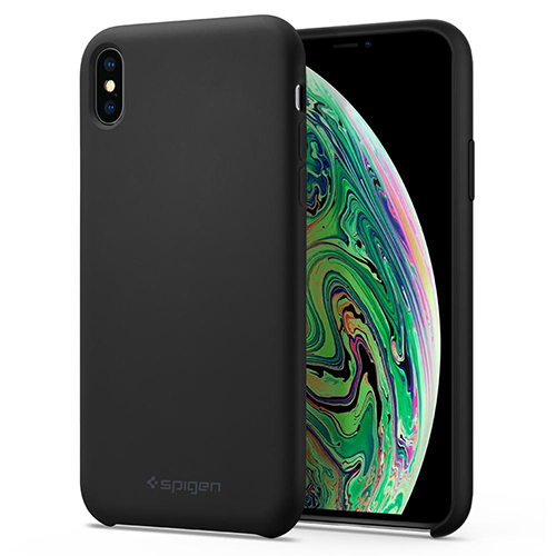 Case iPhone Spigen Silicone Fit