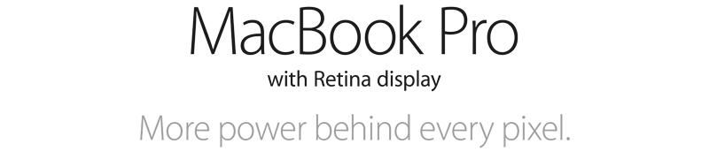 MacBook Retina Display